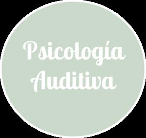 psicologia auditiva